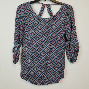 Rock & roll cowgirl blouse size small